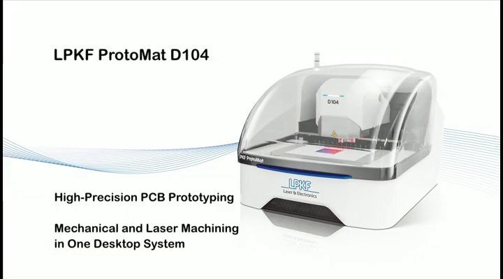 Lpkf Protomat D104